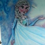 Spray Painted and Airbrushed Wall Murals
