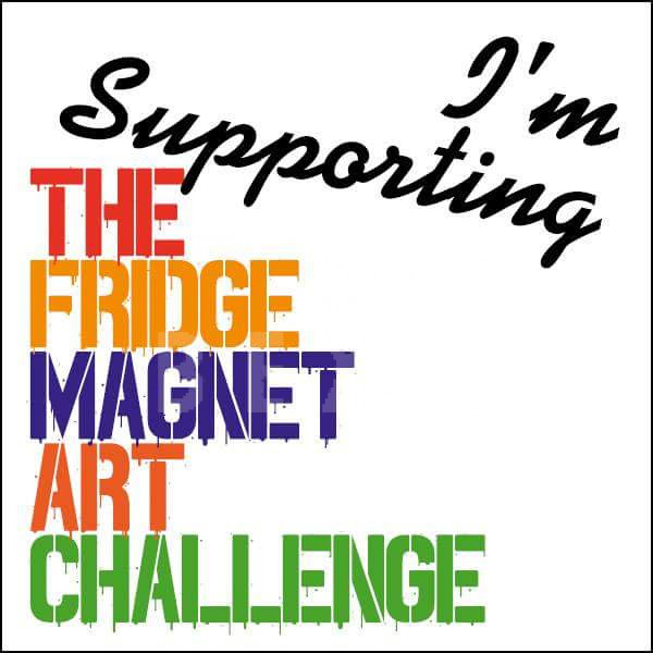 About the fridge magnet art challenge