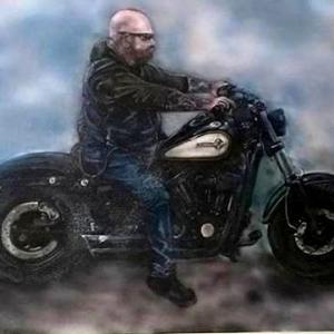 biker canvas