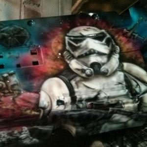 Storm trooper Engine cover
